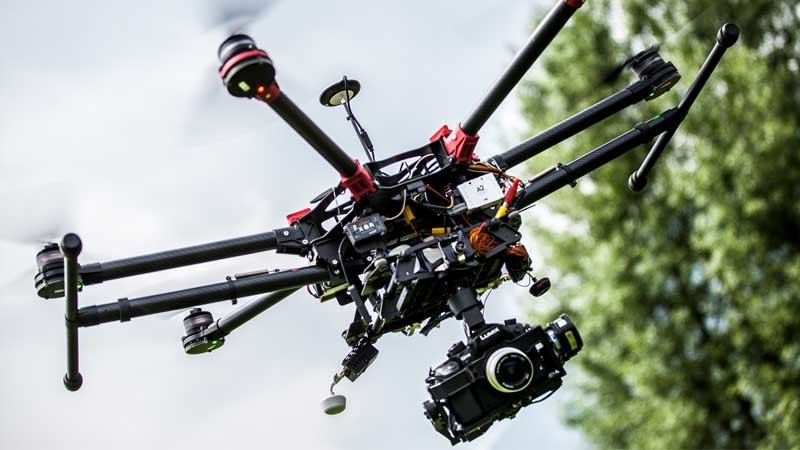 Drone professionale per riprese video 4k