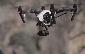 flotta drone per videoproduzioni inspire 1 pro
