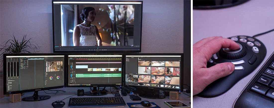 Video Produzioni Postazione post produzione